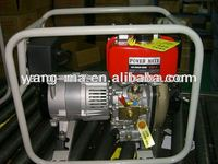 open frame type air cooled engine power 2kw diesel generator set