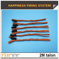 Free shipping 2 Meter Talon igniters, Safety fuse, without Pyrogen, without Gun Powder for Fireworks Display