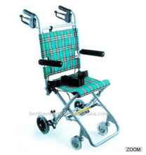 THE CHEAPEST CHINESE ULTRA LIGHTWEIGHT TRAVEL ALUMINUM SIMPLES WHEEL CHAIR WITH BME4638 CE,FDA,ISO,FSC