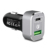 Type C PD Car Charger Dual 63W Quickcharge 3.0 Technology Supported