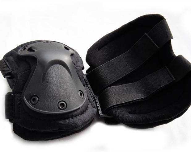 Tactical Knee and elbow Pads Classic black for military and police