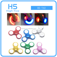New Plating LED Fidget Spinner Bright