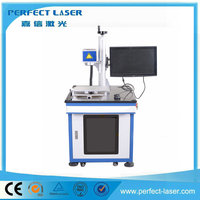 Perfect Laser belt buckles fiber laser marking machine for metal / non-metal material with great price