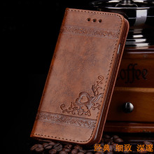 Classic elegance anti dropping shockproof magnetic leather tpu card holder wallet flip cover case for iPhone 8