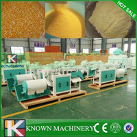 Agriculture corn maize grits grinding processing plant machine for sale