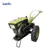 small hand walking tractor water cooled diesel engine agricultural machineries