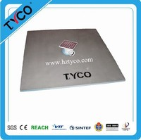 Environmentally Friendly Lightweight Shower Pan with HCFC-free XPS Foam Core