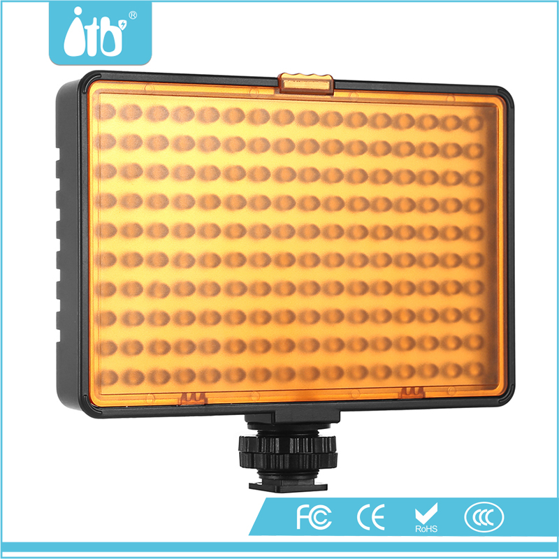 Photographic Studio Lighting Slim LED Video Light With 120pcs LED Beads Television Microfilm Wedding Light