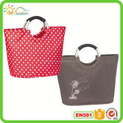 Cheap Price Wholesale Reusable Shopping Bag Polyester Material