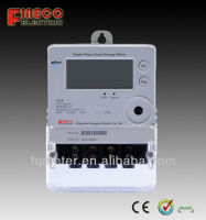 Single phase GPRS/ZIGBEE communication Smart Energy meter