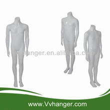 WKTQ01 Fiberglass store display headless boy mannequins/ mannequins wholesale