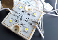 Shenzhen Plastic shell 12v waterproof 4 chips smd 3528 led module