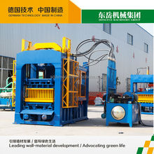 QT6-15B dongyue cement full-automatic brick making machine / bamboo pallet for concrete block