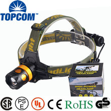 Rechargeable Zoom XPE Led Hunting Head Light Miner Headlight Headlamp With Flashlight