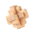 Hot sale china inteligence tests wood toys 3d puzzle wooden brain puzzle teaser puzzle game