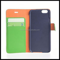leather cell phone wallet case for iPhone 6