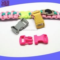 hotsale colored plastic bag buckle side release for bag, bag buckle side release