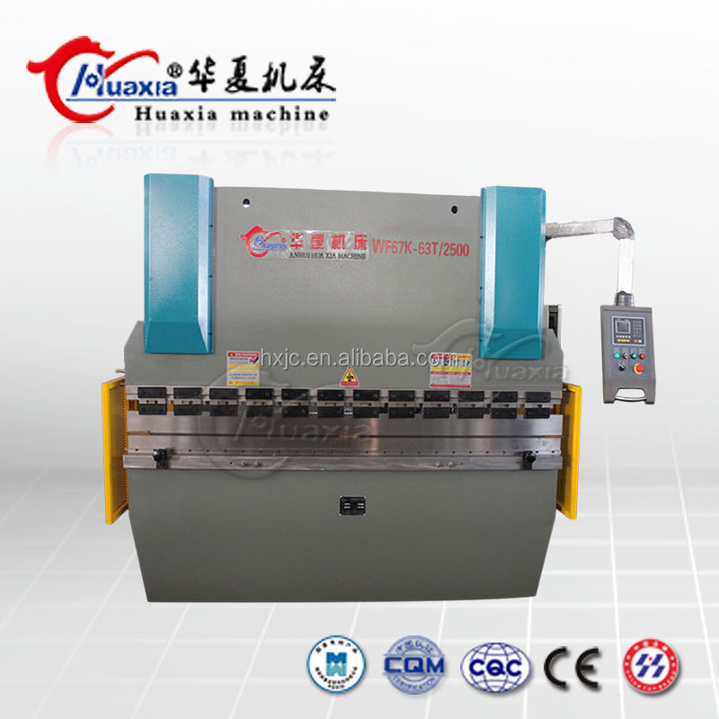 Hydraulic Steel Metal Sheet Folding Automatic Electric Press Brake Machine