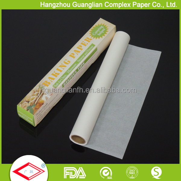 Custom Silicon Greaseproof Parchment Baking Paper
