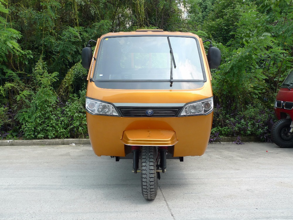 trade assurance lifan 200cc closed carbin motor cargo tricycle