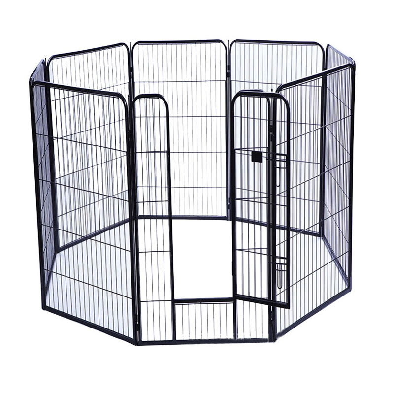 Heavy Duty Exercise metal tube Dog Playpen manufacturer