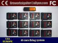 pyrotechnics firing system/48 cues remote control firing system/fireworks igniter/fireworks firing system price, CE passed