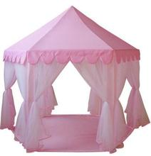 Large kids play tent Lovely Girls' playhouse Pink play tent