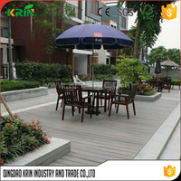 sound absorbing mdf acoustic panel wood box natural floor for terrace solid deck