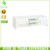 new model living room white mdf wood lcd TV stand cabinet table