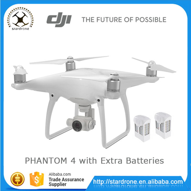 Original DJI Phantom 4 Drone with Extra Batteries HD 4K camera GPS FPV RC Quadcopter