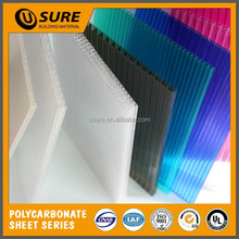 dark blue lexan 20mm thickness rubber polycarbonate hollow pc sheet