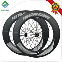 Carbon road bicycle wheels 700c full carbon road bike wheelset 88mm Clincher Powerway R36