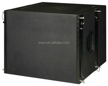 Q1 line array system 18inch 800W RMS long throw high quality line array subwoofer 18
