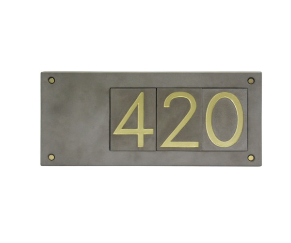 Door number plate home number plates hotel Doorplate
