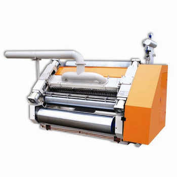 Semi-auto Simple Chain Feeding Single Face Corrugation Machine