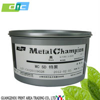 Tins Offset printing hotsale DIC metallic ink for tin