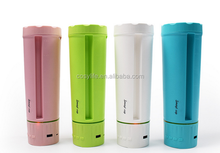 570 ml Smart Cup USB Rechargeable Water Bottle Music Mug With Power Bank and Phone Holder