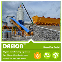 Low Price Concrete Batching Plants HZS90 complete set with detailed Proposal