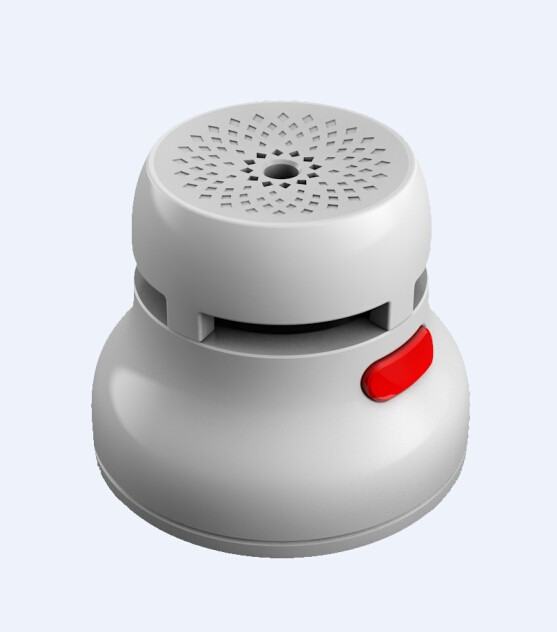 Mini Smoke Detector with EN14604 for Fire Alarm with battery operated smoke alarm smoke carbon monoxide detector with 24V