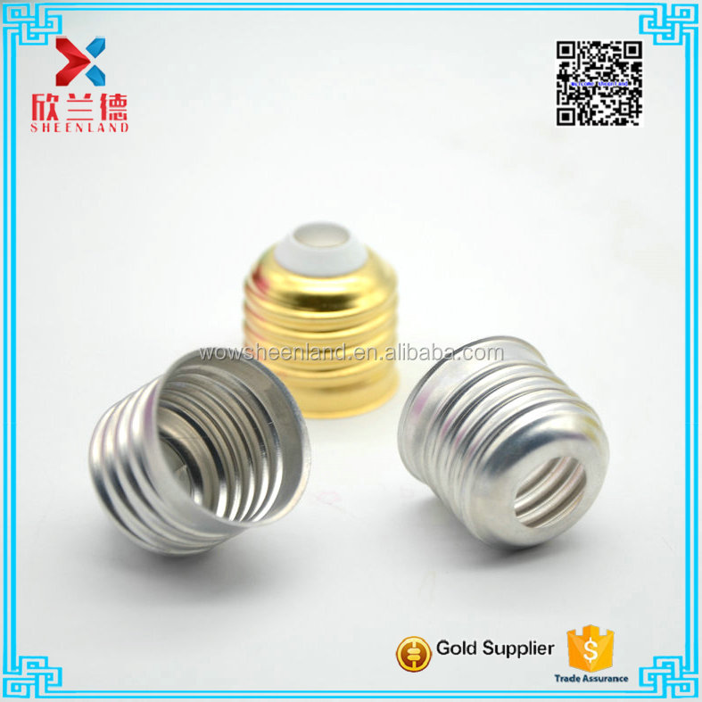 wholesale cheap metal screw cap for lamp light bulb bottle