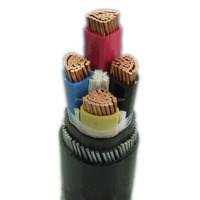 Aluminum/Copper Conductor 240MM XLPE 4 Core Armoured Cable