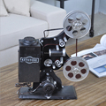 Classic Movie Projectors Old Camera Cinematograph Metal Model Collectibles Gift