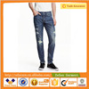Customized Fashion Slim Fit Men Jeans in Blue