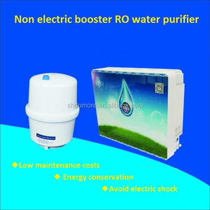 Non - electric booster RO water purifier