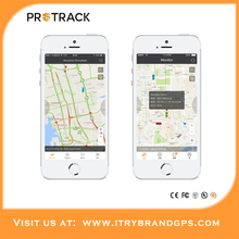 PROTRACK gps tracking system for vehicle gps tracker real-time web tracking software protrack365