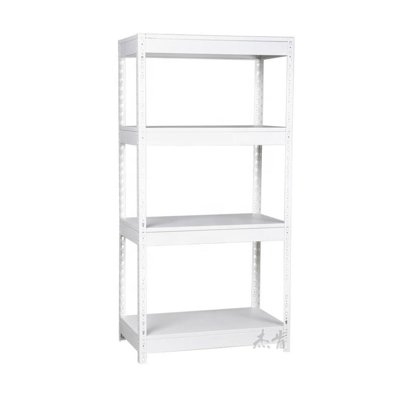 Light Duty Simple 4 Layer Adjustable Boltless Shelving <strong>Rack</strong>