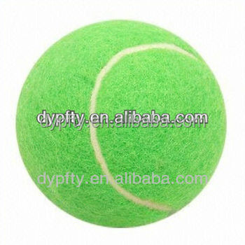 High quality balls chinese tennis ball manufacture