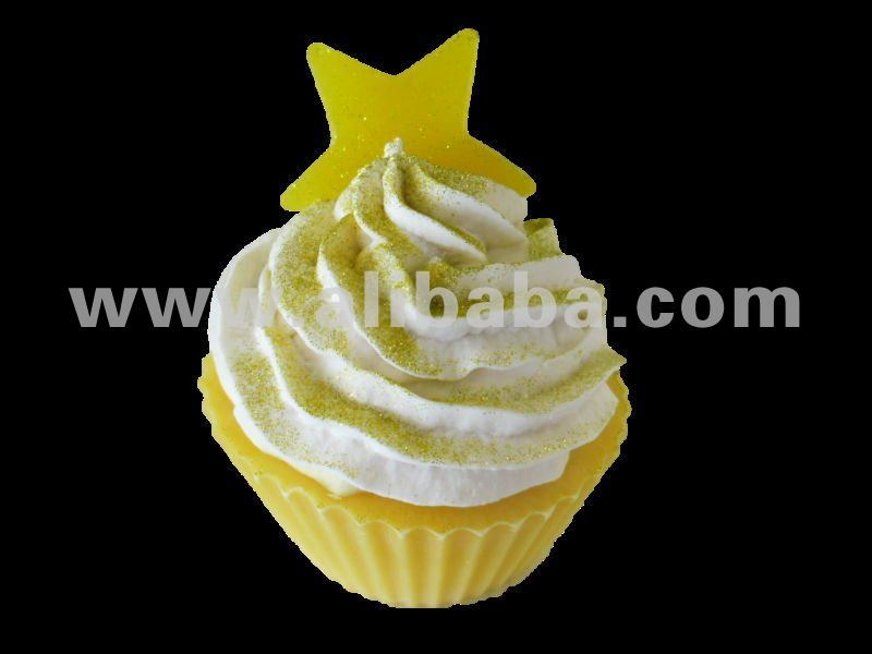 Yellow Star Cupcakes