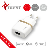 VBEST Hot sales travel portable usb battery charger