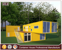 Low cost sea container house